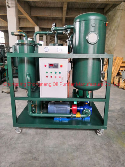 Used Turbine Oil Filtration Machine, Lubricant Oil Dehydration and Regeneration Unit
