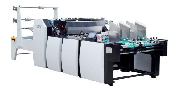 Big Size Window Patching Machine with Creasing Line Film Patching Machine
