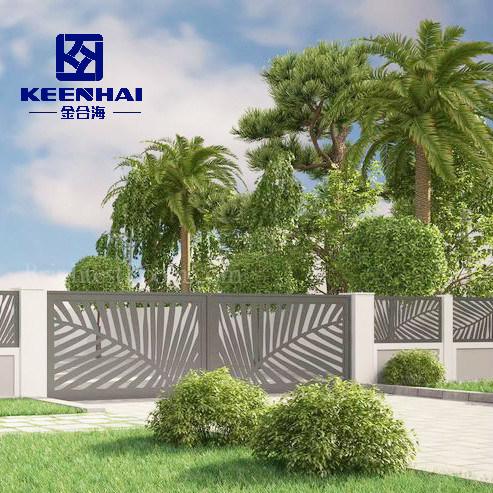 Unique Decorative Aluminum Garden Security Fence for Villa