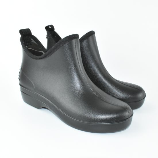 China Unisex Black Work Shoes Durable