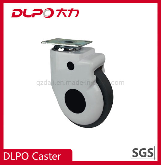 Dlpo 5 Inch Plate Medical Bread Caster Wheel for Rehabilitation Physiotherapy Machine