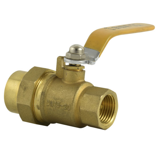 Safety Locking Gas Valve 1/2′ ′ -3/4′ ′ Inch with Brass Material