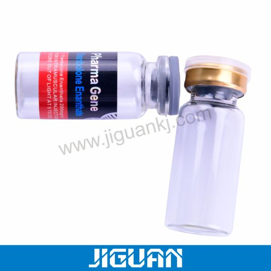 Glass Bottle with Rubber Stopper