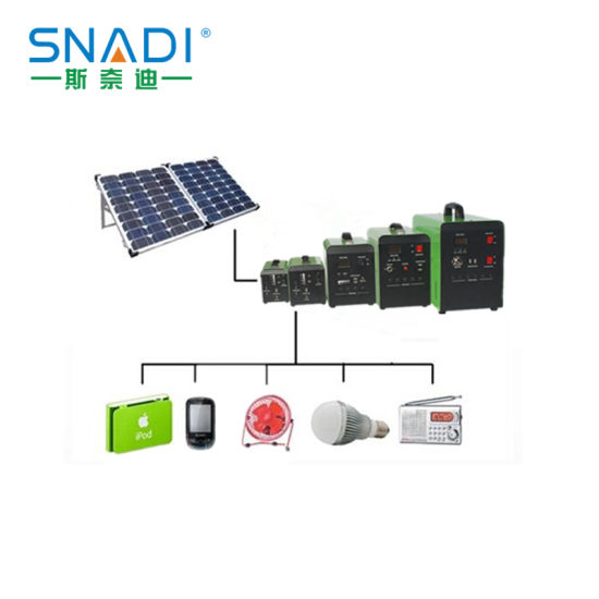 10W -100W Portable DC Solar Power System for Industrial, Home