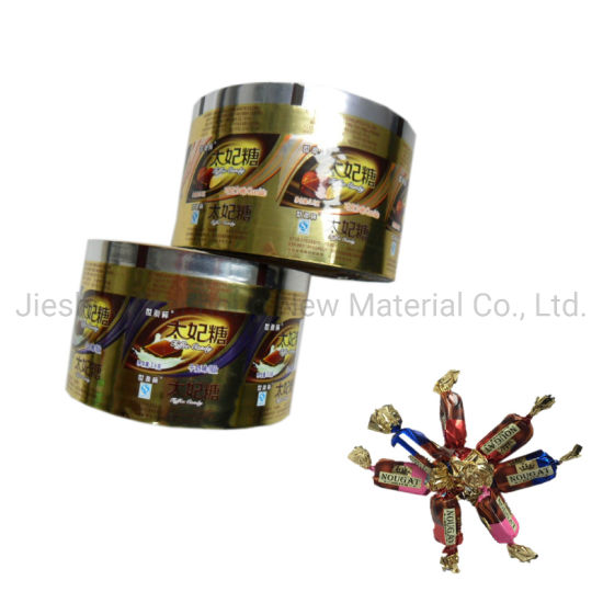 PET/PVC Twisted Candy Wrapping Film Confectionery Packaging Wrapper Film