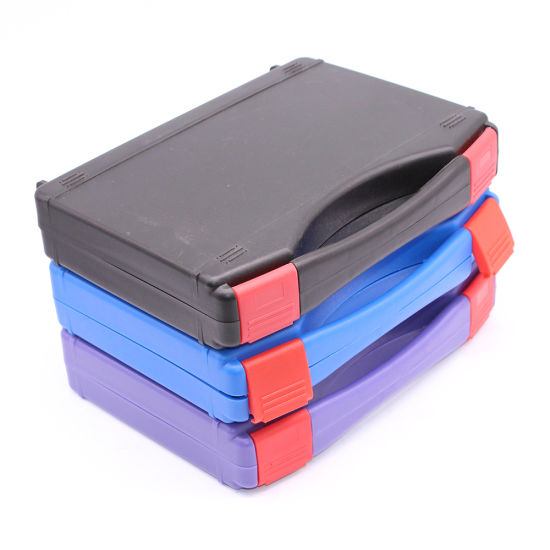 Christmas Cheap Simple Plastic Tool Case with Matte Surface