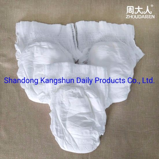 Best Quality OEM Adult Diapers with High Absorbent Soft Feeling