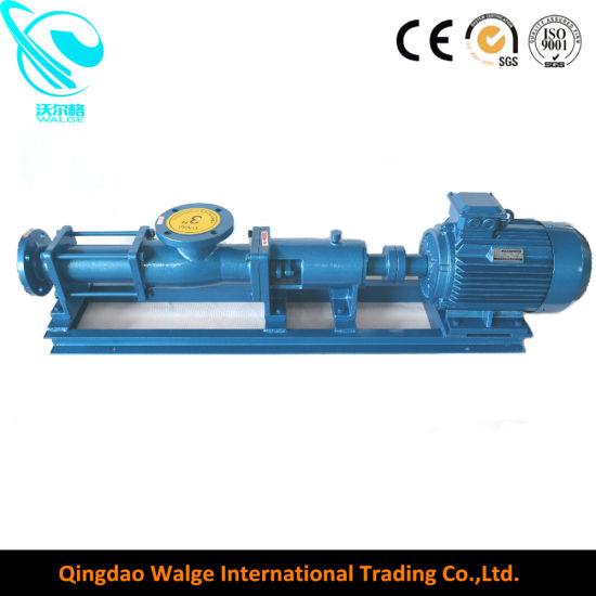 High Viscosity Sanitary Stainless Steel Single Screw Mono Pump