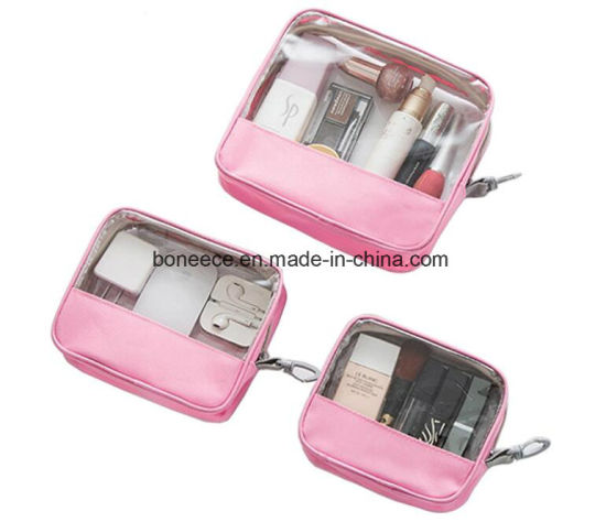 Wholesale Transparent Cosmetic Bag Travel Clear Bags PVC Toiletry Bag c31a8e041b2ef