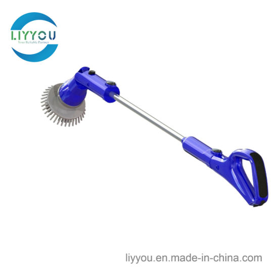 China LyD Wireless Rechargeable Spin Scrubber Electric Rotating - Electric bathroom cleaning brush