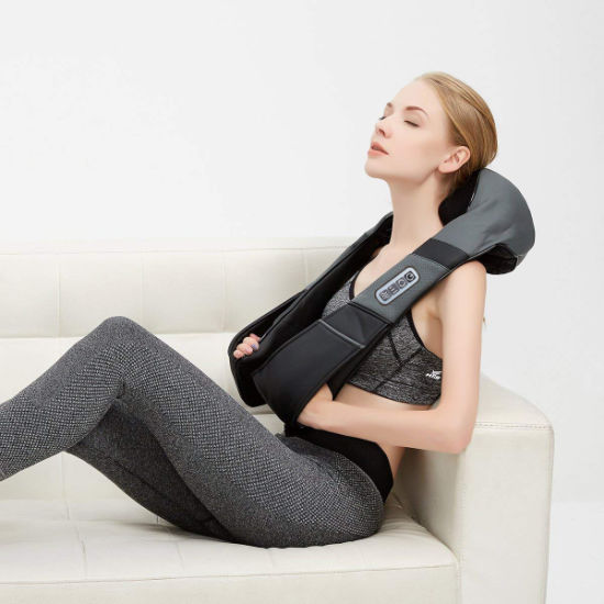 Shiatsu Neck and Shoulder Massager with Infrared Heating pictures & photos