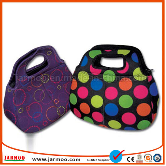 Full Color Printed Children Neoprene Lunch Bag pictures & photos