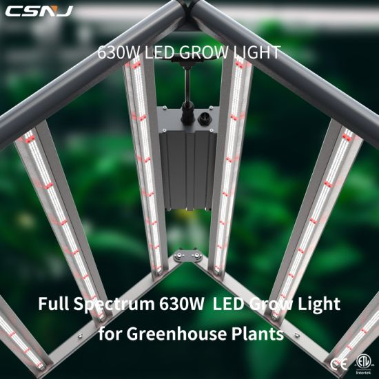 Fluence Spydr Equivalent Full Spectrum 600W Best LED Indoor Grow Lights for Indoors Plants Daisy Chain