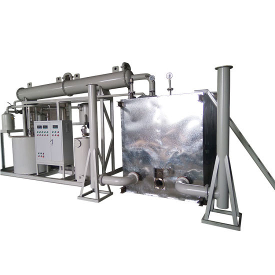 Black Engine Oil Recycling Plant Small Waste Oil to Base Oil Plant