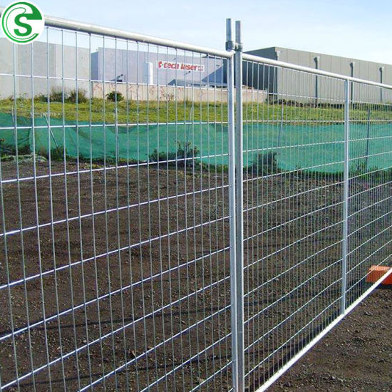 Australia Standard 2100h*2400W HDG Temporary Fence for Construction Site