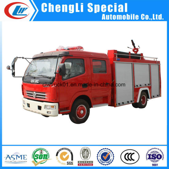 Dongfeng Small Capacity 2000litres Water Tanker Fire Truck pictures & photos