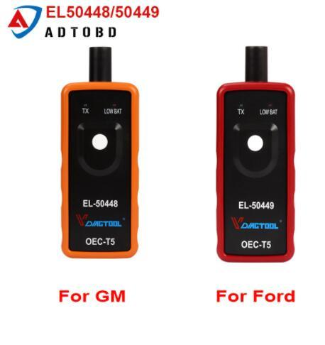 Best Quality a+ EL50448 Auto Tire Presure Monitor Sensor Oec-T5 EL50448/50449 for GM/Opel for Ford TPMS Reset Tool