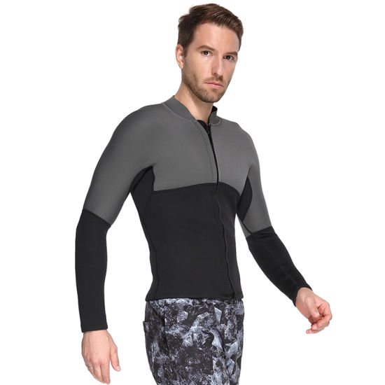 Wetsuit Men Long Sleeve 3mm Surfing Suit Diving Snorkeling Swimming Jumpsuit pictures & photos