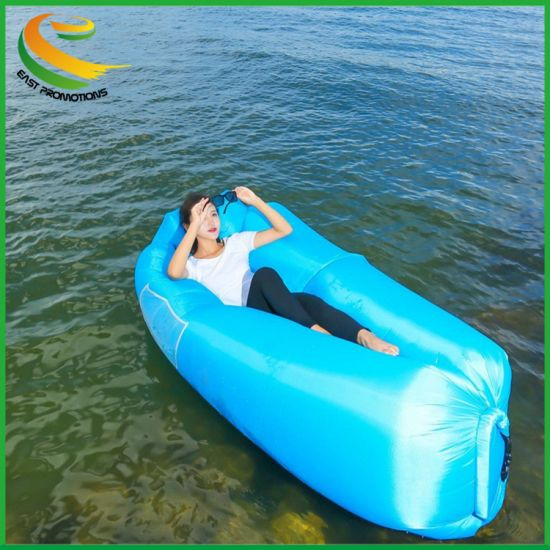 Inflatable Sofa Air Bed Lounger Chair Outdoor Sleeping Bag Mattress