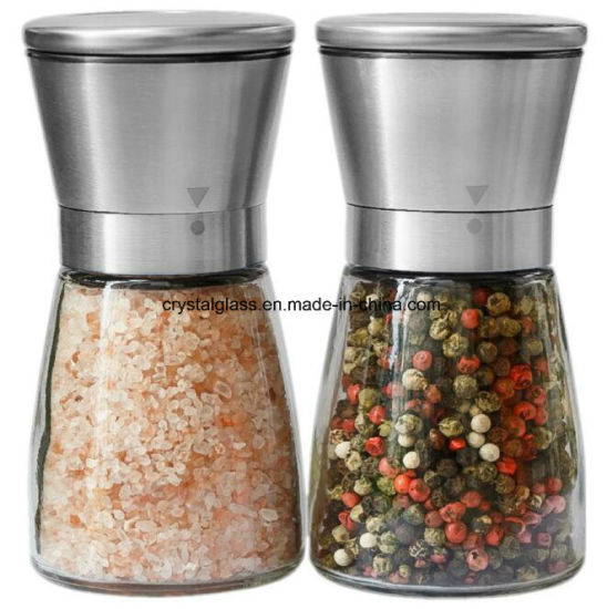 Amazon Salt and Pepper Grinder Set Spice Grinder pictures & photos