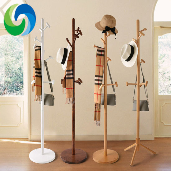 China Wooden Floor Stand Clothes Tree Coat Hat Rack China Coat Rack Wood Coat Rack