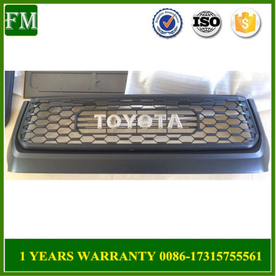 Toyota Tundra 2014 - 2018 Trd PRO Hood Bulge & Auto Grille with New OEM
