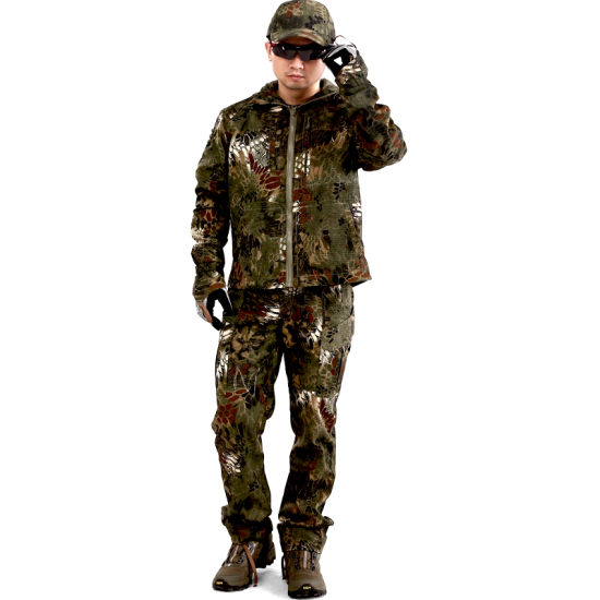 5db56f664b4398 Tactical Outdoor Rattlesnake Python Commando Combat Camouflage Suit Uniform  pictures & photos