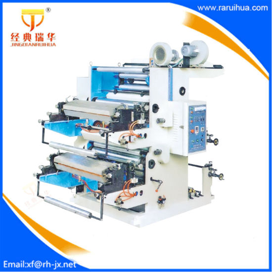 6 Color Flexo Opp Water Bottle Label Printing Machine