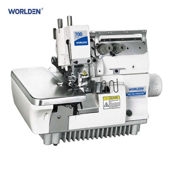 Wd-700-4/02X250 Super High-Speed Four-Thread Double Chain Rolling Overlock Machine