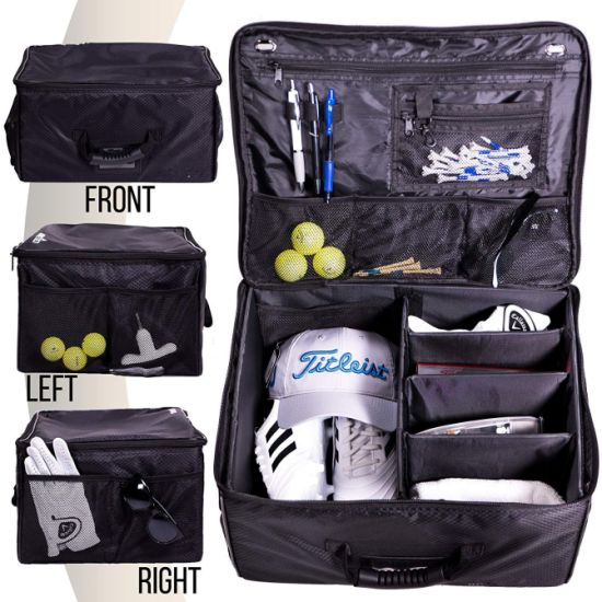 Collapsible Trunk Organizer Storage-Car Golf Locker to Store Golf Accessories Bag pictures & photos