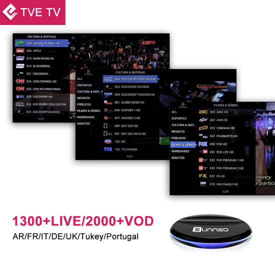 Arabic/Turkey/French/Spanish IPTV Chanels Stable Package pictures & photos