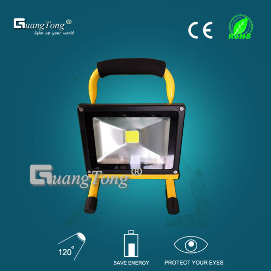 Factory Best Selling Portable LED Rechargeable Floodlight