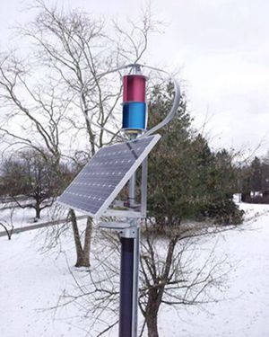 1000W Maglev Wind Power Generator Suitable for Frozen Area
