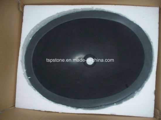Black Granite Square Vanity Sink for Bathroom pictures & photos