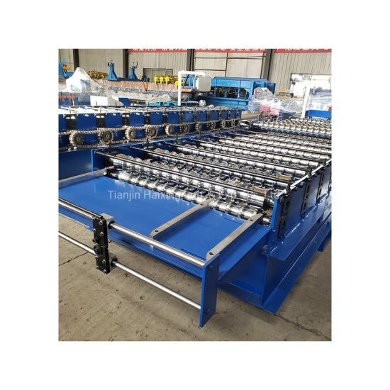 China Hot Sale Color Steel Corrugated Roofing Sheet Roll Forming Machine China Roll Forming Machine Roller Form Machine