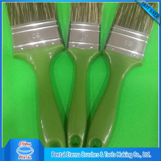 Pet Hollow Filament Mix White Bristle Small Paint Brushes pictures & photos