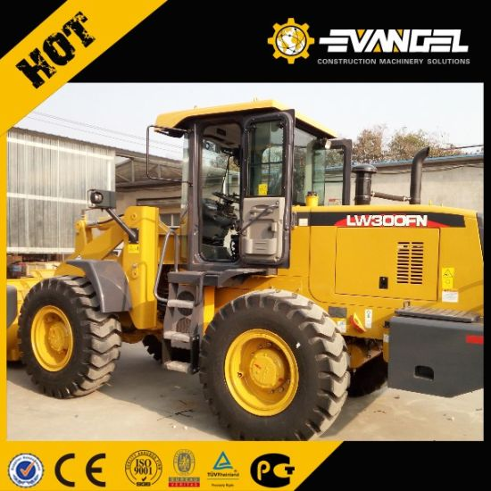 3 Ton XCMG Small Wheel Loader Lw300fn for Sale pictures & photos