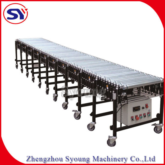 Automatic And Expandable Flexible Roller Conveyor Alibaba Com