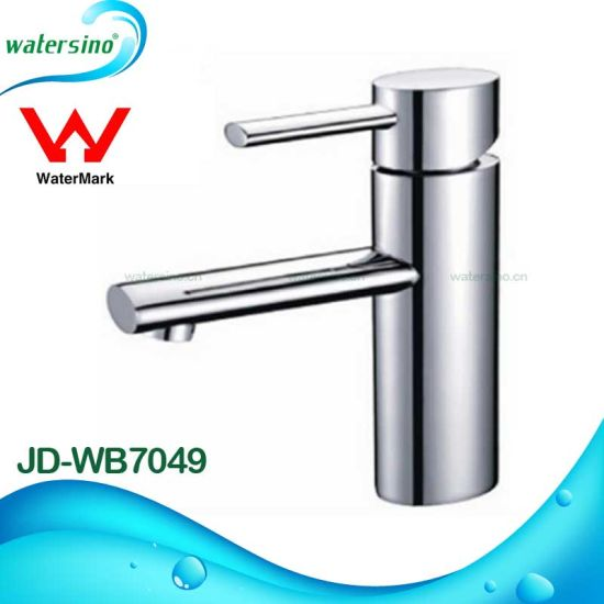 High Quality Single Hole Chrome Brass Bathroom Faucet From Kaiping