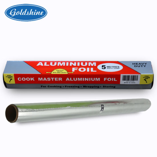 High Quality Household Food Grade Aluminium Foil Roll pictures & photos