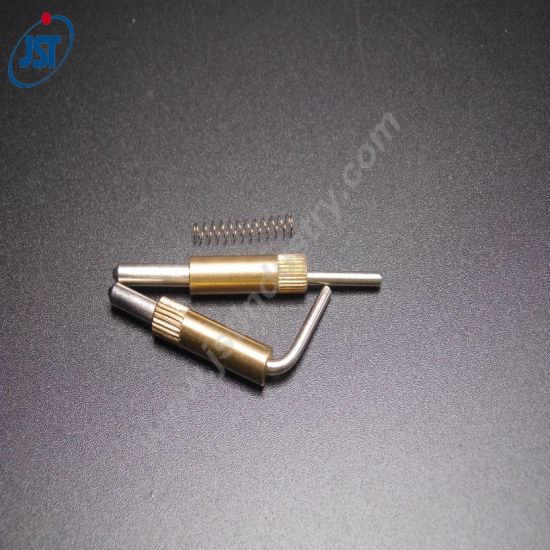 High Precision Custom Copper/Brass CNC Swiss Turning Micro Parts