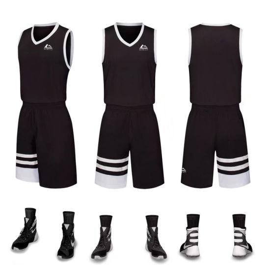 China Latest Design Custom Black Philippines Basketball Jersey