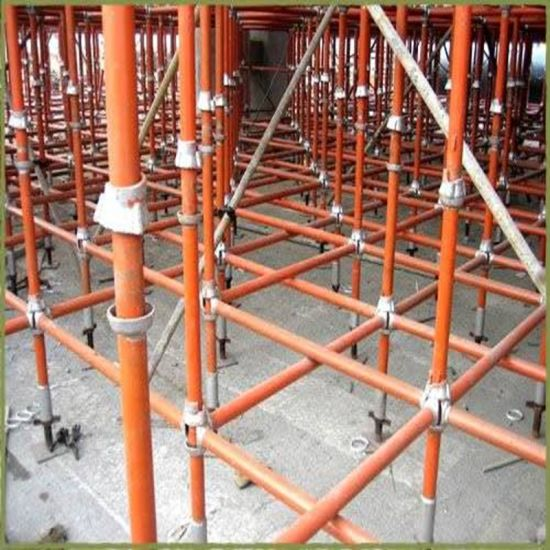 Hot DIP Galvanized Cuplock Scaffolding for Construction Formwork
