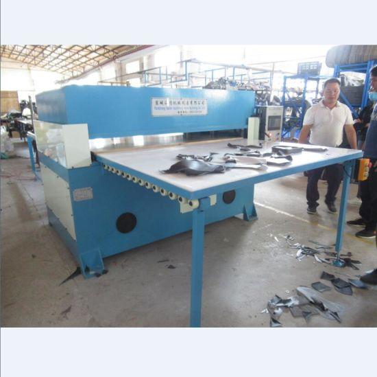 Hydraulic Automatic EVA Rubber Flip Flop Material Die Cutting Machine