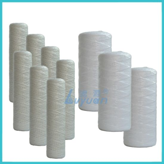 20 Inch Jumbo PP Cotton Water Filter Cartridge String Wound Filter for Sediment Filtration