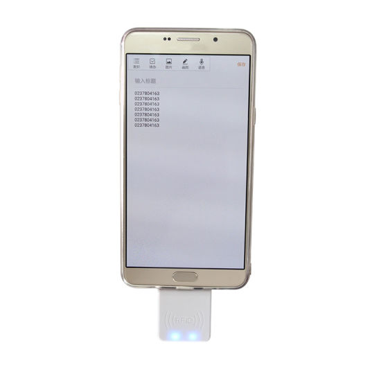 China Android 125kHz RFID Reader NFC Reader for iPhone, iPad