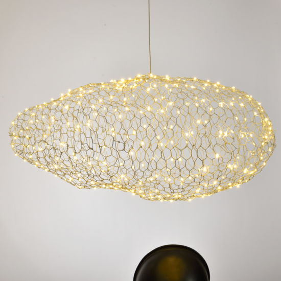 Modern Cloud Type Pendant Lamp Art Decoration Lights
