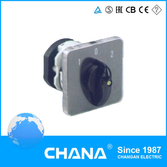 110A 25A 20A Change Over Rotary Switch with Ce RoHS Certificates