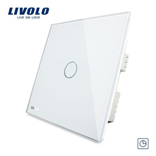 China livolo spot lamp timetouch screen wall light timer switch vl livolo spot lamp timetouch screen wall light timer switch vl c301t 61 aloadofball Gallery