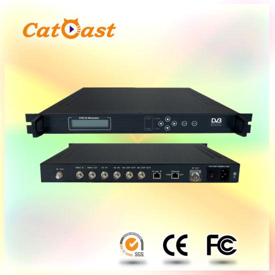 Qpsk 8psk DVB S2 RF Modulator With 2Asi In And Output